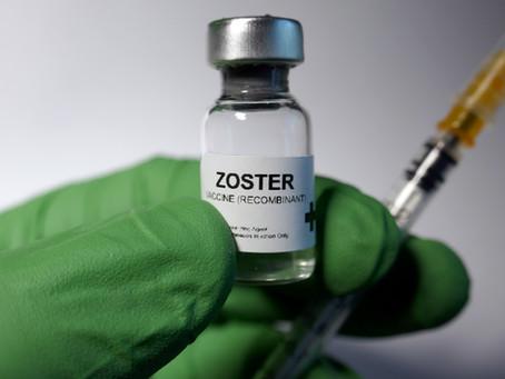 Le vaccin contre le zona et                le magnétiseur