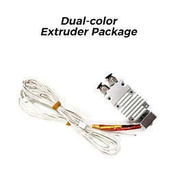 Dual-color Extruder Package