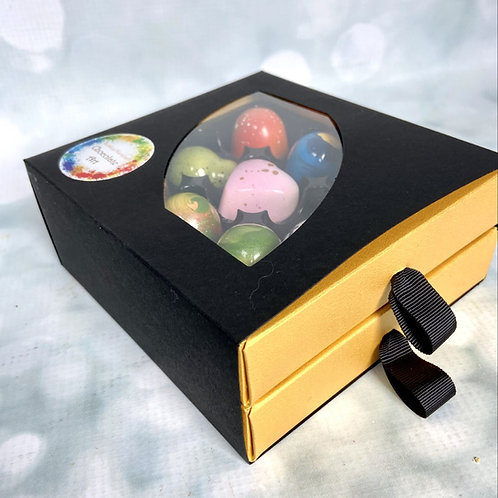 box of 18 Handmade ARTISAN chocolates