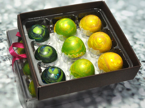 Small Box of Handmade ARTISAN chocolates - SELECT YOUR FLAVOURS