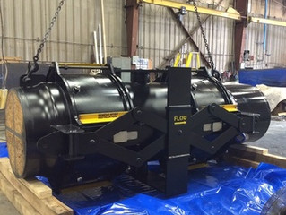 """Valtech Engineering ships 42.0"""" spent catalyst expansion joint"""