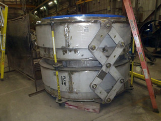 """Valtech Engineering builds 82.0"""" catalyst line expansion joint"""