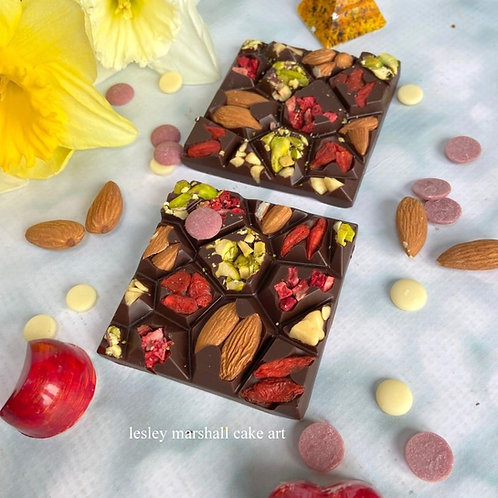 VEGAN Boxed 4 x 50g ARTISAN chocolate Bars