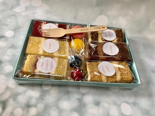 Cake Box Samples & Treats