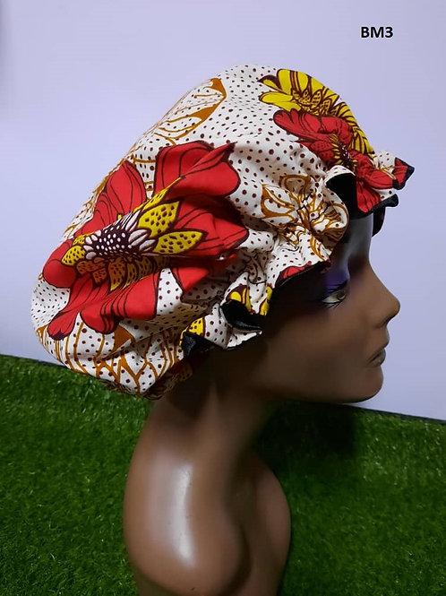 Bonnet avec motif - bande élastique