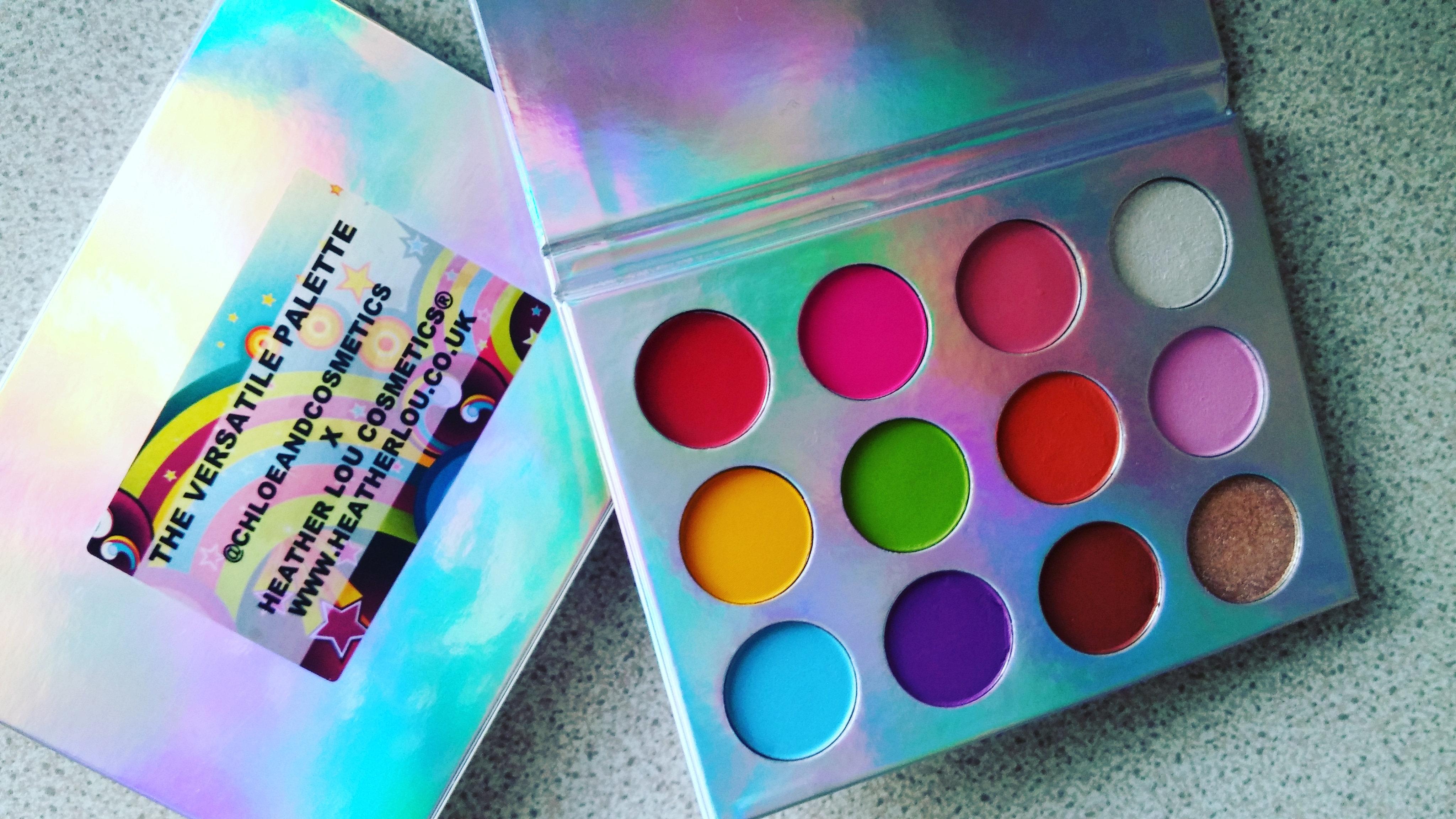 38a7904e3275 Heather Lou Cosmetics 12 Colour The Versatile Palette Matte   Shimmer  Eyeshadow