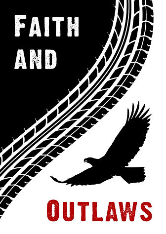 Cover design for Fath and Outlaws