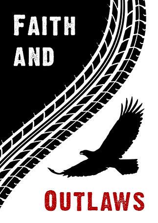 cover design for the book Faith and Outlaws by Kristin Valinsky at kristinvalinsky.com