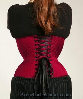Enchanted waist training corset