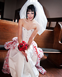 Bespoke wedding gown ensemble by Enchanted Custom Corsets