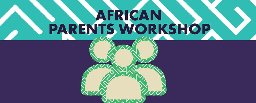 African Parents Workshop with Text Slide