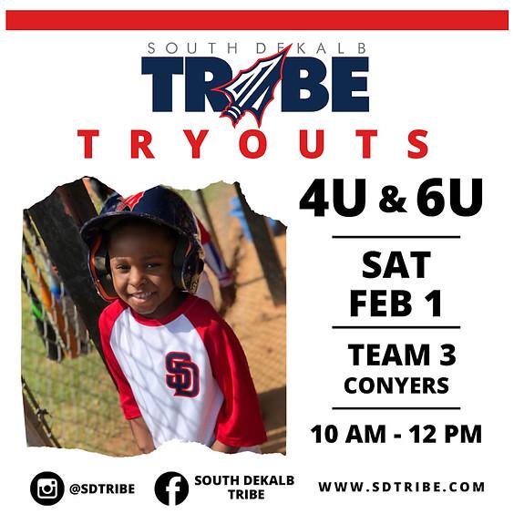 Tribe 4U & 6U Tryouts