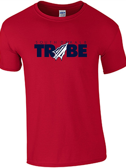 Tribe Men's Cotton T-Shirt- RED