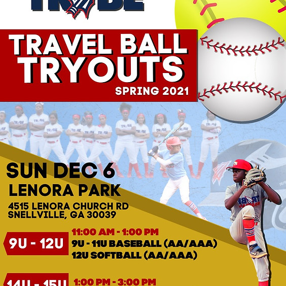2020 Tribe Winter Tryouts