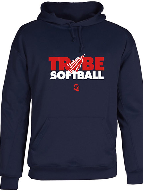 Tribe Softball Performance Hoodie -NAVY