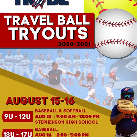TRIBE TRAVEL BALL TRYOUTS          13U - 17U