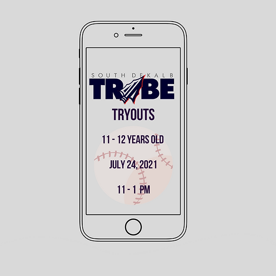 South Dekalb Tribe 11 - 12 years old Tryouts