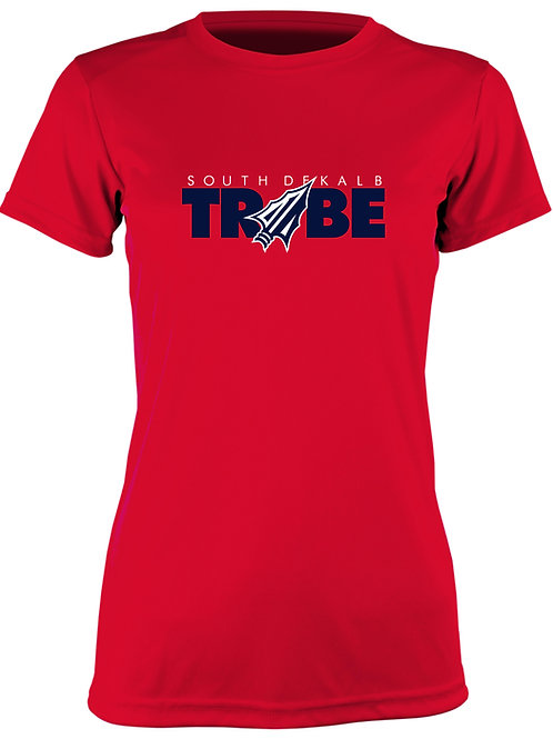 Tribe Women's Cotton T-Shirt - RED