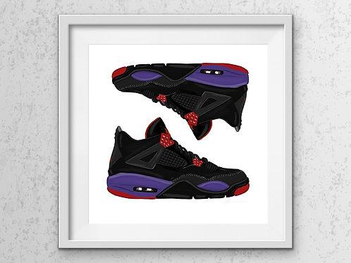 Raptors Shoe Print