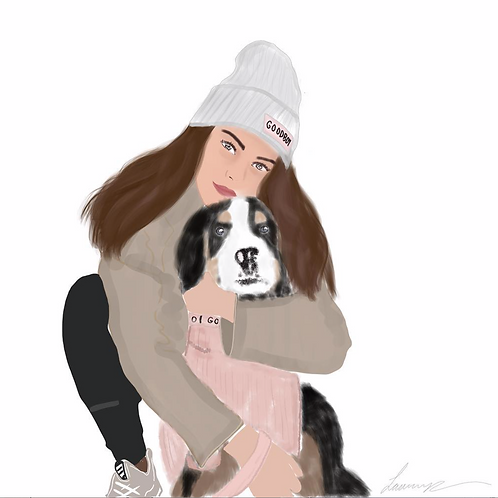 One Person & Pet (digital)