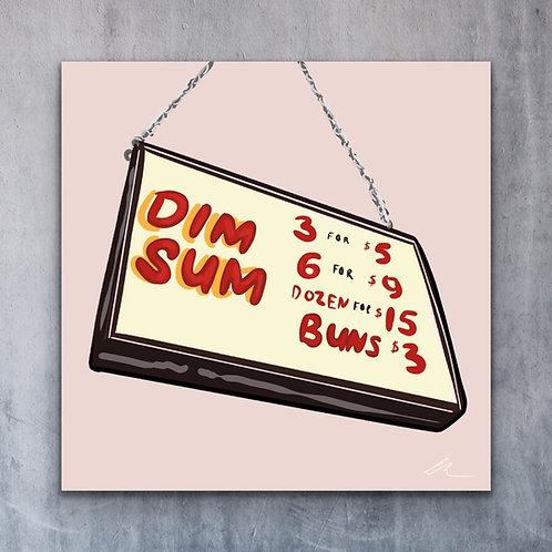 Dim Sum Print