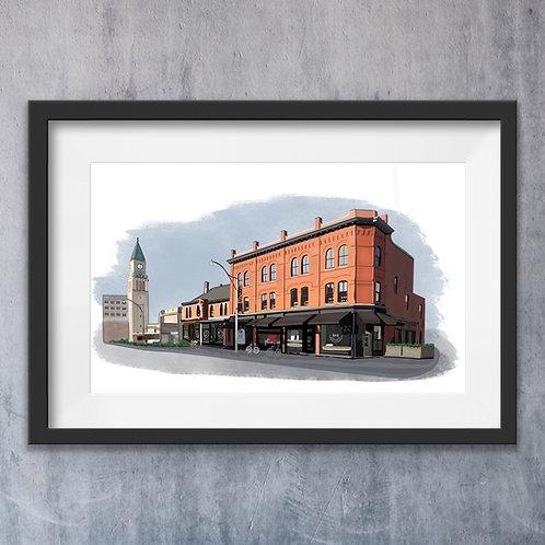 Home & Building Illustration