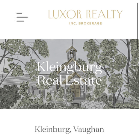 Luxor Realty - Kleinberg