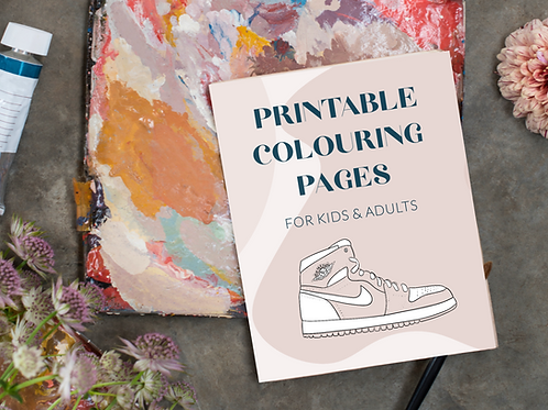 Free Printable Colouring Pages   For Kids and Adults