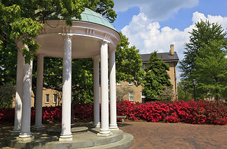 Old Well at UNC Chapel Hill in the Sprin