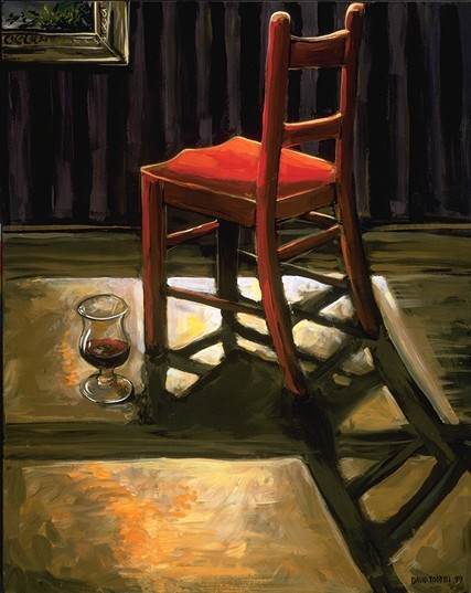 paintingsthingsredchair