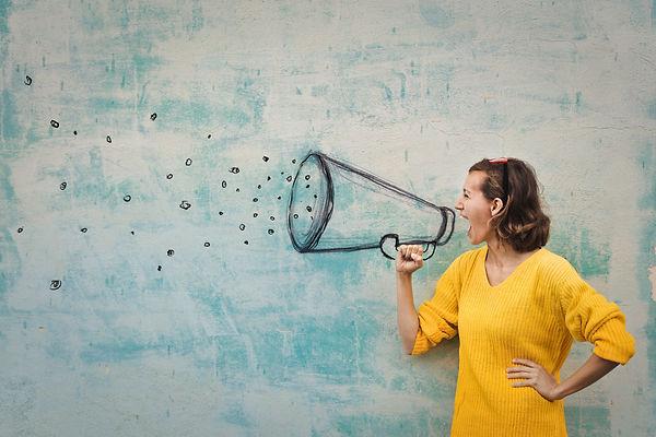 speaking loudly in the megaphone.jpg