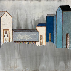 Monumental Moments Mixed Media on Panel