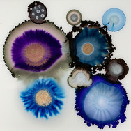 Blue and Purple Geodes #1