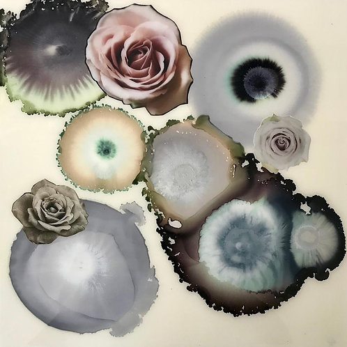 Pink and Grey Geodes