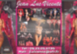 Spectacle Cabaret Jean Luc Vicente 2020