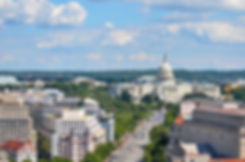 Washington DC - Aerial view of Pennsylva