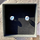 Thumbnail: glass studs,  clear silver