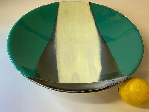 'green spring day' glass bowl