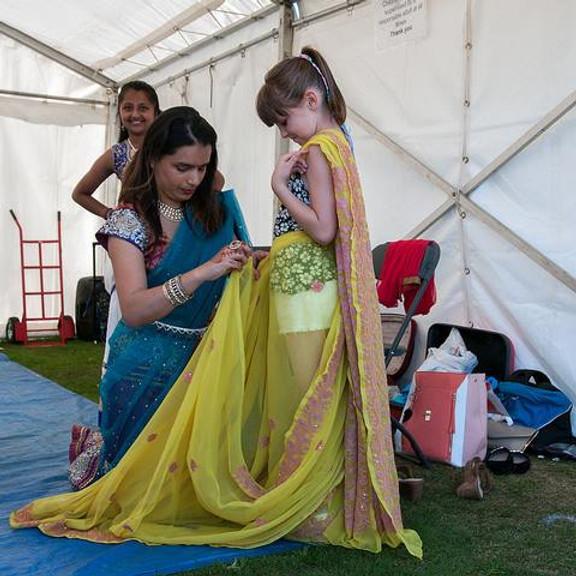 Sari Wearing workshop -  Free