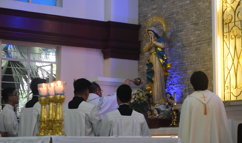 Rector on Assumption solemnity: 'There's more after death'