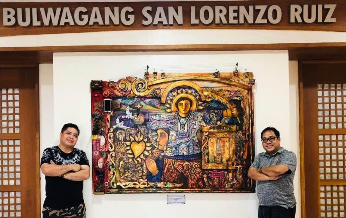 Bulacan artist unveils 'neo-realist San Lorenzo Ruiz'