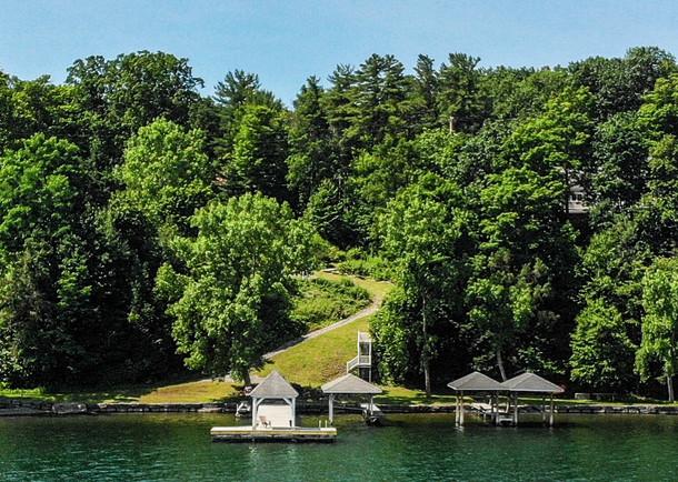 Community lake front