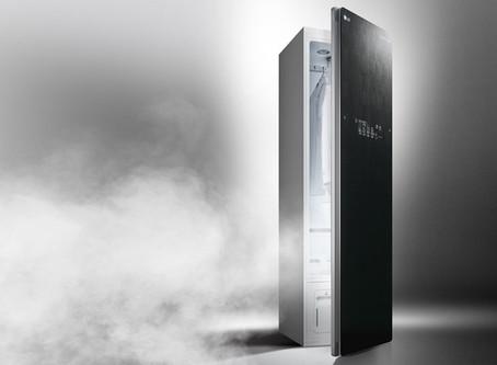 LG adds TrueSteam Styler to UK home appliance range