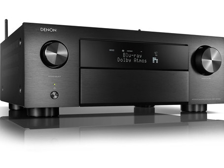 DENON INTROS X-SERIES AVRS WITH 8K AND 4K/120FPS SUPPORT