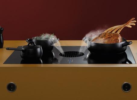 Bora X Pure cooktop extractor wins trio of design awards