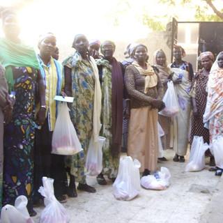 IDPs camp in South Sudan