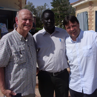 Bayak with Pastor Groves and Pastor Samuel