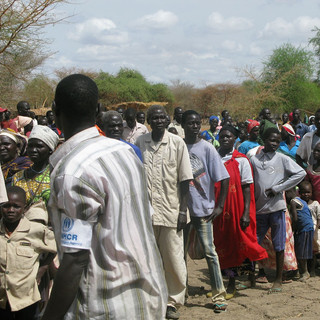 Life in an IDPs camp
