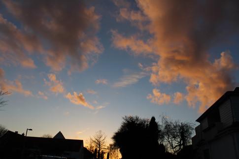 Solnedgang i Asnæs