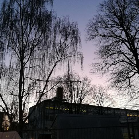 Solopgang på Nørrebro